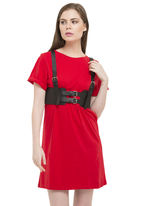 Off The Edge T-shirt Dress!