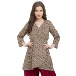Wrapped Tunic and Dhoti Set