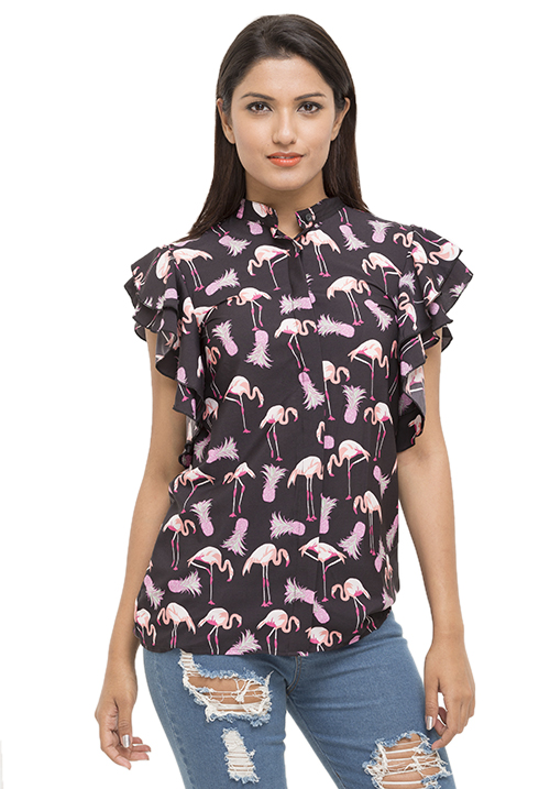 Got Flamingoes On My Shirt!