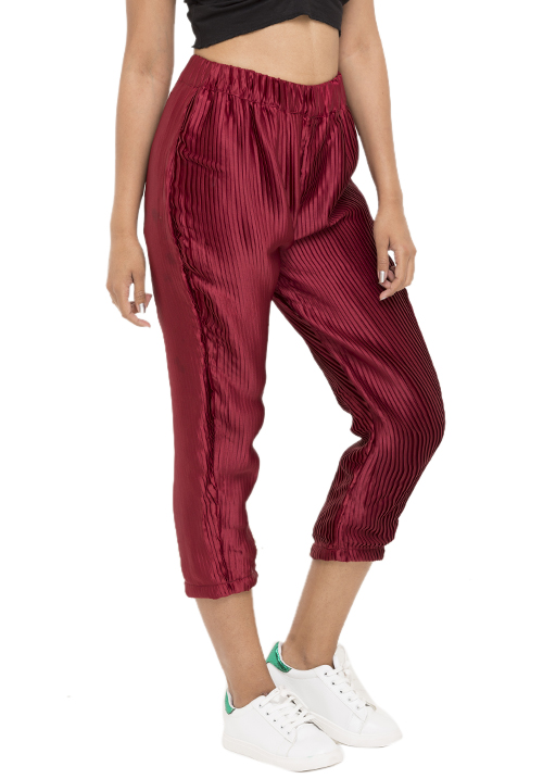 Pleated Satin Pants!