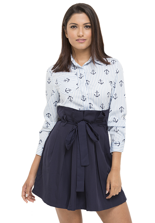 Anchor Print Dress!