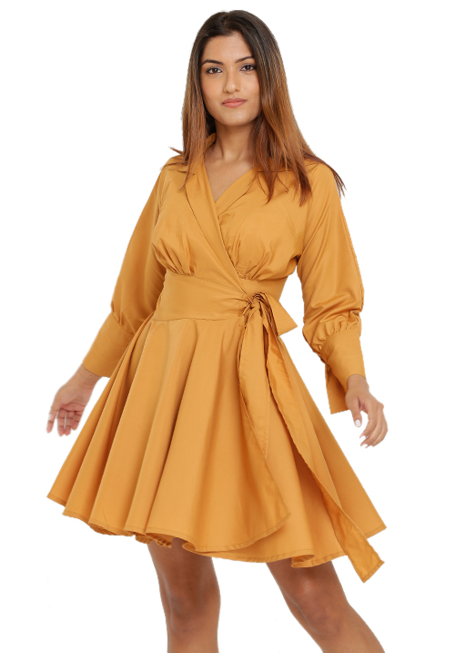 Wrapped Blazer Dress!