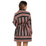 Wrapped In Stripes Dress!