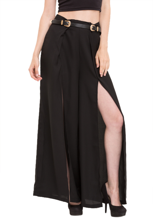 That Palazzo Pants With Slits!