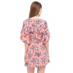 Wrapped In Florals Dress!
