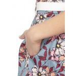 Linen Pleated Skirt Set!