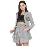 Statement Blazer Skirt Set