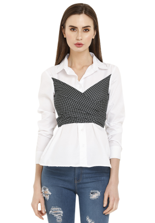 Tie Up Corset Shirt!