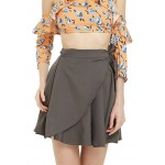 Flared Wrap Skirt!