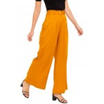 Twin Pleat Flared Trousers