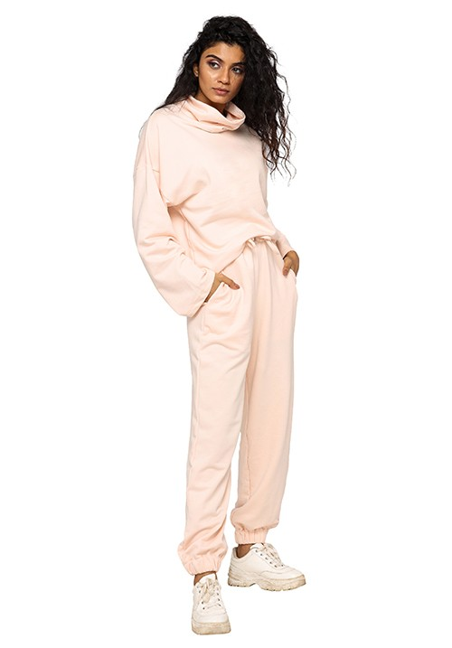 High Neck Oversized Joggers Set!
