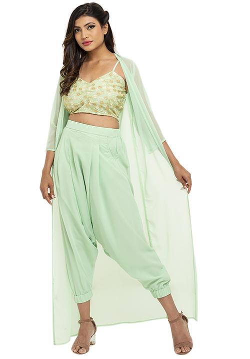 The 3 Piece Dhoti Set!