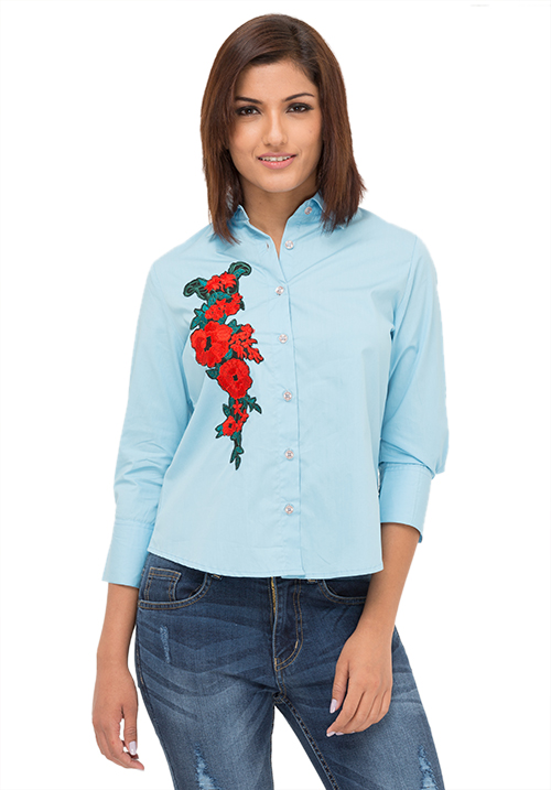 The Flower Patch Shirt!
