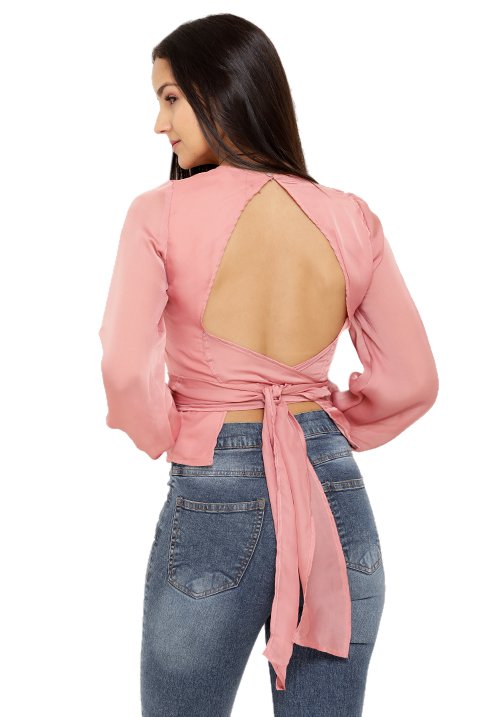 Backless Tie Up Top!