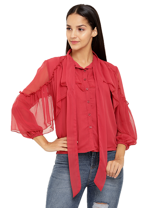 Ruffle Addict Shirt!