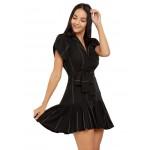 Button Down Black Dress!