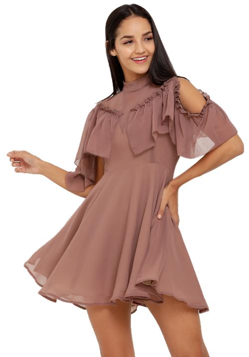 My Moves My Mauve Dress!