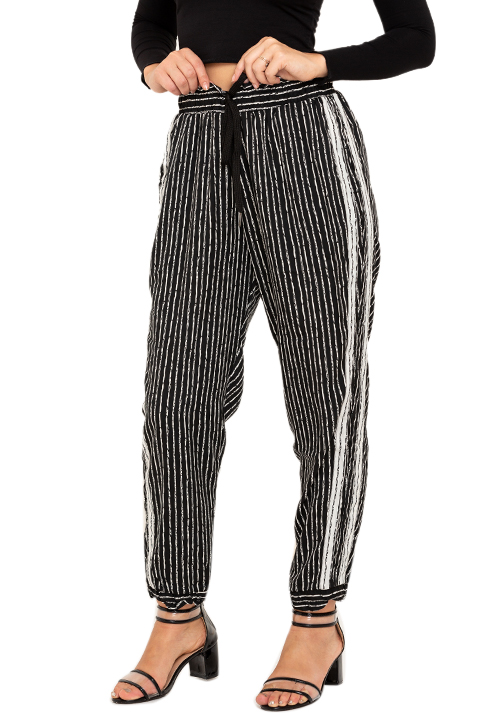 Stripes On Stripes Joggers!