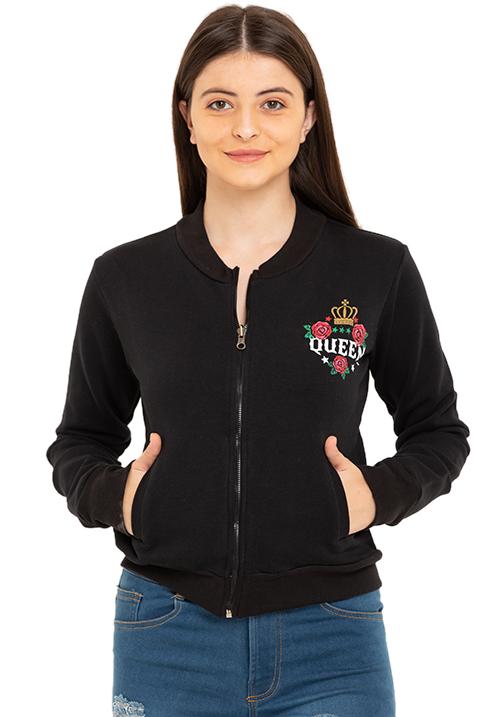 That Queen Zipper Jacket!