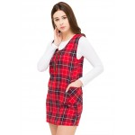 Plaidful Instinct Dress!