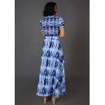 Tie and Dye Slit Skirt Set!
