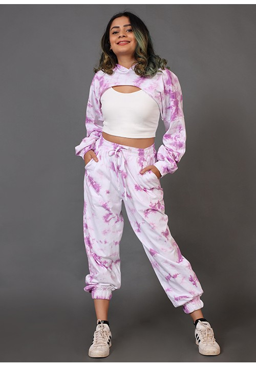3 Piece Tie and Dye Joggers Set