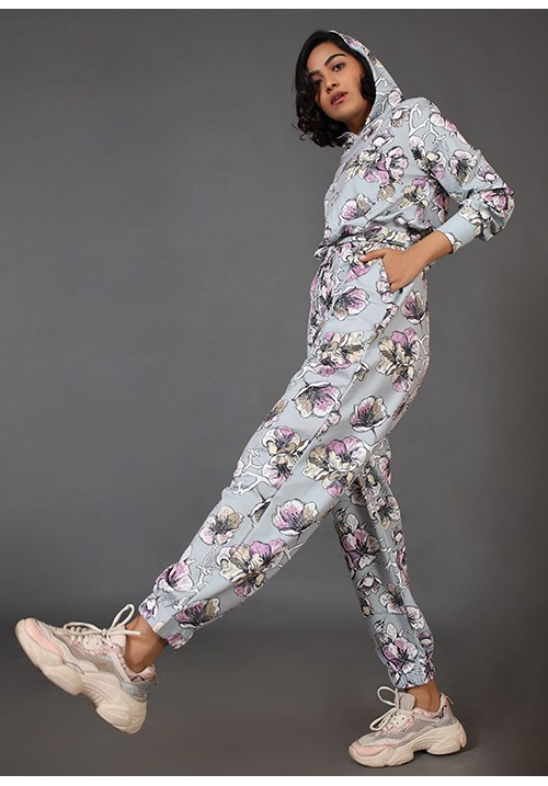 Oversized Printed Joggers and Hoodie!